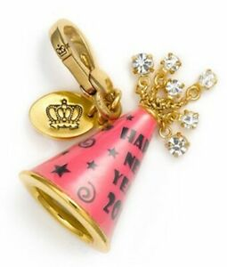 Juicy Couture Charm 2011 LTD New Year's Hat Gold Tone