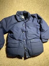 Sierra Designs Vintage Gore-Tex Down Puffer Jacket Parka Blue XL