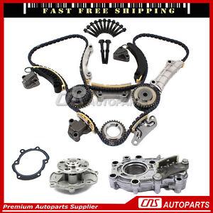 Timing Water & Oil Pump Fits 07-15 Cadillac Pontiac Saab Suzuki 3.6L 3.0L DOHC