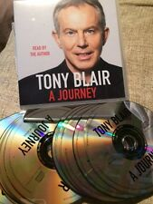 A Journey Tony Blair, Read by the Author 2010 13 x CD's