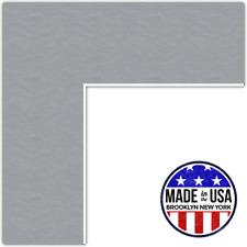 ArtToFrames Custom Silver Picture Photo Frame Mat Matting Board Lg