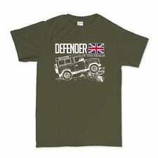 Defender Of The Realm Off Road Land Rover Fan T Shirt Tee Tshirt