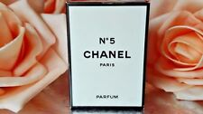 ❤️  CHANEL 5 PURE PARFUM EXTRAIT 0.2oz 7ml rare,☆☆☆☆☆!
