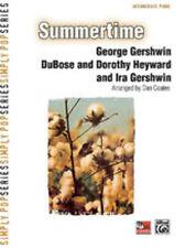 Summertime (intermediate piano); Gershwin, G arr, Coates, Piano Solo - 28005