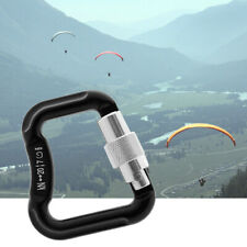 Abseiling Paragliding Paraglider Parachute Snap Clip Auto Lock Carabiner 20KN