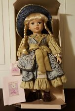 """COLLECTIBLE MEMORIES  """"Connie"""" Genuine Porcelain  Limited Collector's Doll"""
