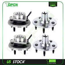 Pair Of 4 Front And Rear Wheel Hub Bearing Assembly For Ford Explorer 2002-2005