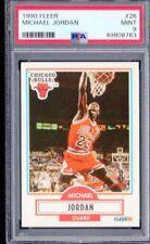 1990-91 Fleer Michael Jordan #28 PSA 9