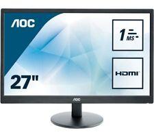 AOC e2770Sh 27 Zoll LED 1ms Gaming Monitor - Full HD,1ms,Lautsprecher,HDMI,DVI
