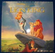 The Lion King Walt Disney Laserdisc Dolby AC-3 THX Letterboxed