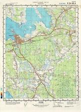 Russian Soviet Military Topographic Maps - HAAPSALU (Estonia), 1:50 000, ed.1988