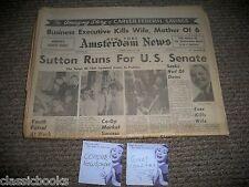NY Amsterdam News Mar 23rd 1968 US SENATE, COMPLETE