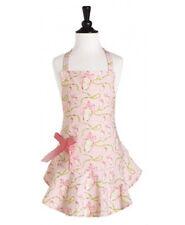 New Jessie Steele Child Kid Girl EASTER RIBBON EGG Apron Pink Spring Pastel gift