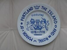 The Island of Portland Commemorative Plate