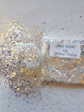 Nail Art Mixed Glitter ( Jack Frost  ) 10g Bag Chunky Shimmering Shiny