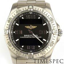 Breitling Chronometer Aerospace Avantage, Titanium, 42mm Ref: E79362