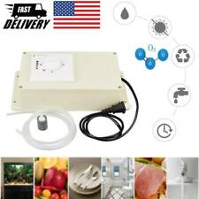 Ozone Generator Machine with Timer for Fruits Vegetable Meat Food Water Purifier
