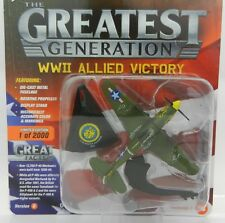 Johnny Lightning *GREATEST GENERATION MILITARY 1B* WWII Curtiss P-40E Warhawk