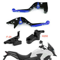 Adjustable Clutch Brake Lever For Honda CB500F CBR500R CBR250R CBR300RR Blue