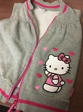 Hello Kitty polaire Zip Jacket Age 7-8 Yrs