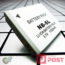 NB6L NB6LH NB-6L 6LH Battery for Canon PowerShot D10 D20 D30 S120 S200 S90 S95