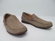 Mephisto Men's Beige Leather Slip-on Loafers Comfort Shoe size 10.5