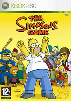 The Simpsons Game Xbox 360 PAL UK FREE UK/IE POSTAGE
