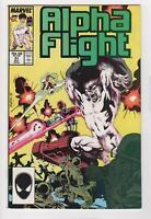 ALPHA FLIGHT no. 51 1st Jim Lee Marvel work VF+ 8.5