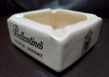 Ballantines  Scotch Whiskey Vintage Wade Regicore English Pottery Ash Tray