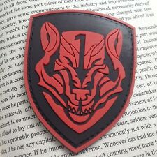 RED AFO Wolfpack Medal of Honor MOHTactical Morale Milspec PVC PATCH