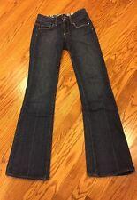 Paige Hidden Hills High Rise Boot Cut Jeans 25