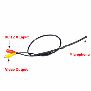 Mic  Mini Audio Hidden Microphone for All CCTV Security Surveillance  system DVR