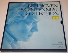 Beethoven Bicentennial Volume 5 Music for the Stage