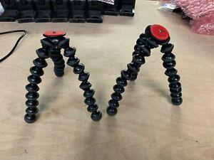 """2 x Joby GorillaPod 1K Flexible Mini-Tripod Camera Video Stand JB01511 9"""" LOT 2"""