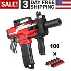 Motorized Foam Dart Blaster Electric Adventure Nerf Gun Automatic Elite Toy 100