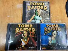 Tomb Raider 1, 2 and 3 Pc
