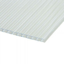 Polycarbonate 3 Sheets 4mm x 610mm x 1220mm Greenhouse Coldframe Cloche Sheeting