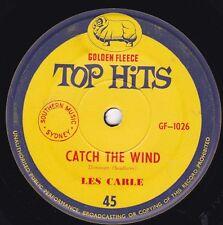 LES CARLE Catch The Wind / BEATMEN Dont Let Me Be Misunderstood 45 Golden Fleece