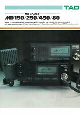 TAD MD450H UHF (450-470MHz) MOBILE TRANSCEIVER Field programmable