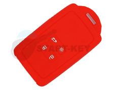 Renault  Schlüssel Karte Silikon Hülle Cover Megane 4 Kadjar Clio Captur Rot