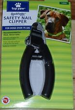 Brand New Miracle Care Quick Finder Deluxe Safety Nail Clipper Large Dog Black