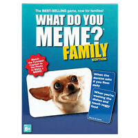 What Do You MEME? Family Edition Game - Funny Picture Caption Card Game, Ages 8+