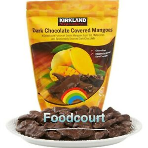 Kirkland Signature Dark Chocolate Covered Mangoes 20.46 oz