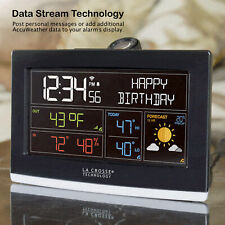 Wi-Fi Projection Alarm Clock with AccuWeather Forecast