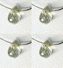 Ray of Sunshine Natural Sapphire Briolette Bead 5197
