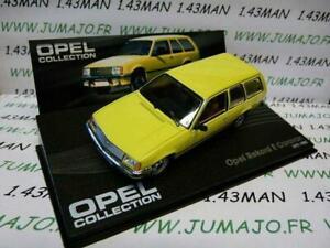 OPE78 voiture 1/43 IXO eagle moss OPEL collection : Rekord E caravan 1977-1982