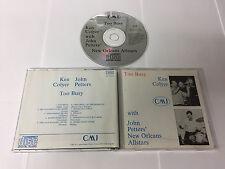 KEN COLYER TOO BUSY ADD PRE BARCODE RARE JOHN PETTERS ALLSTARS CMJ CD 008