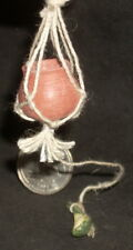 Dollhouse Miniature Hanging Terracotta Water Pot & Gourd Teresa Dudley Coursein