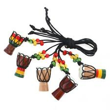 Jambe Drummer Individual Djembe Pendant Percussion Musical Instrument Necklace