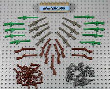 LEGO - Rifles Muskets & Pistols Lot - Brown Gray Minifigure Weapon Gun Pirates